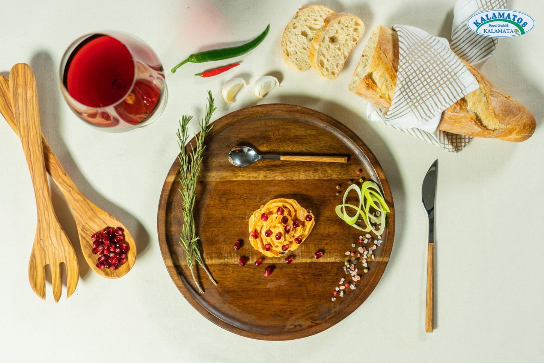 Granatapfel-Creme